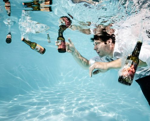 Unterwassershooting für den Steirischen Braukalender