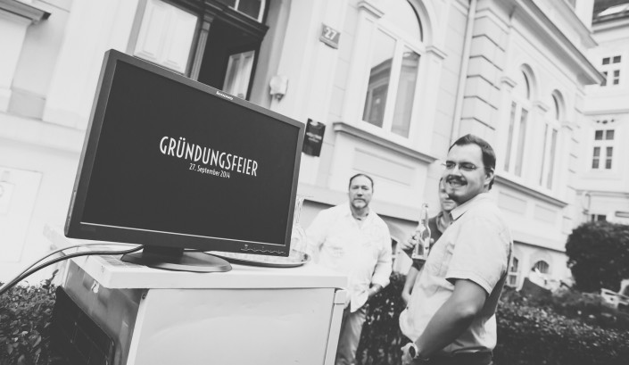 Fotostudio Graz - Eröffnungsfeier