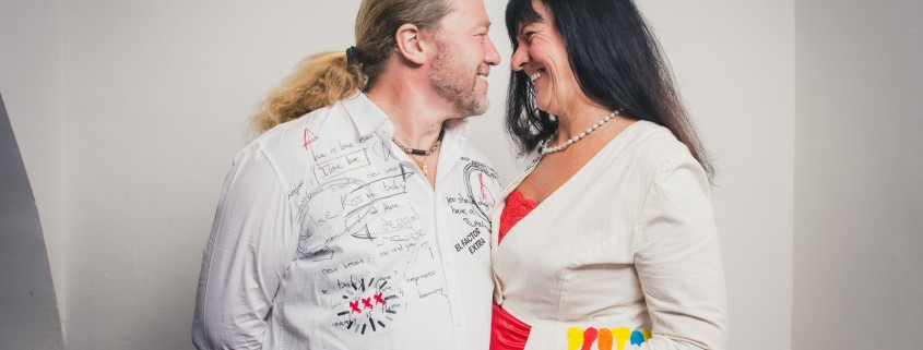 Otto Vogrincic und Anita Mörth