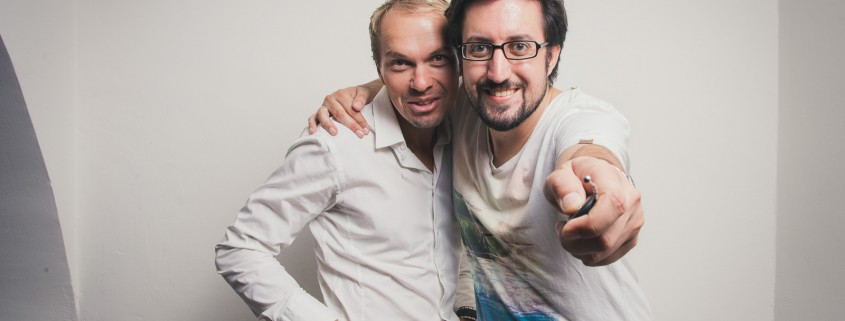 Manfred Fauster und Manuel Mörth