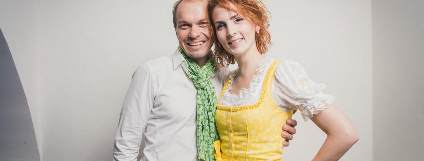 Manfred Fauster und Miriam Primik
