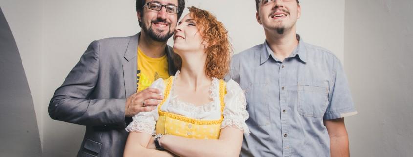 Manuel Mörth, Miriam Primik und Christian Berl