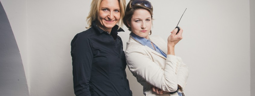 Michaela Maier und Melissa Leitinger