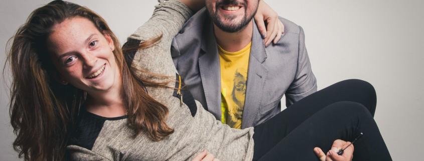 Sarah Primik und Manuel Mörth