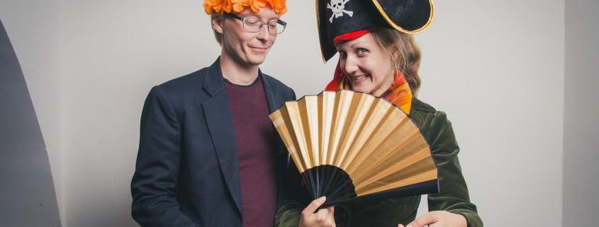 Werner Kleinsasser und Janina Worba