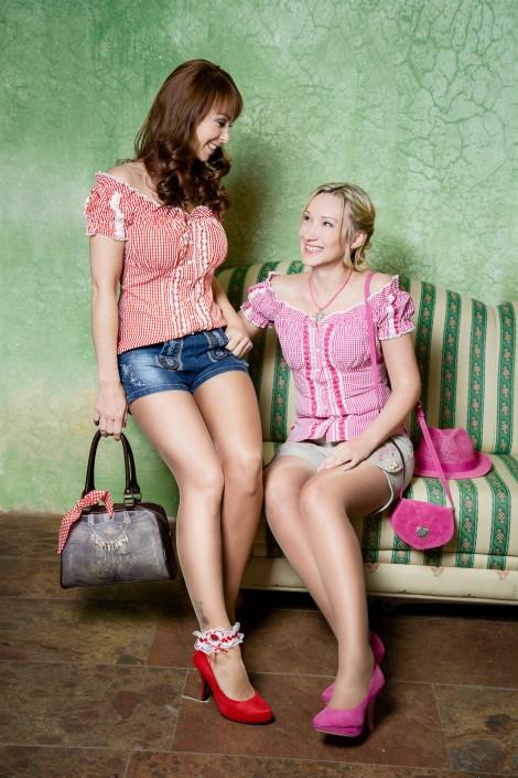 Sabrina Sammer-Koschak und Silvia Pfeifer - Trachten-Shooting von Miriam Primik