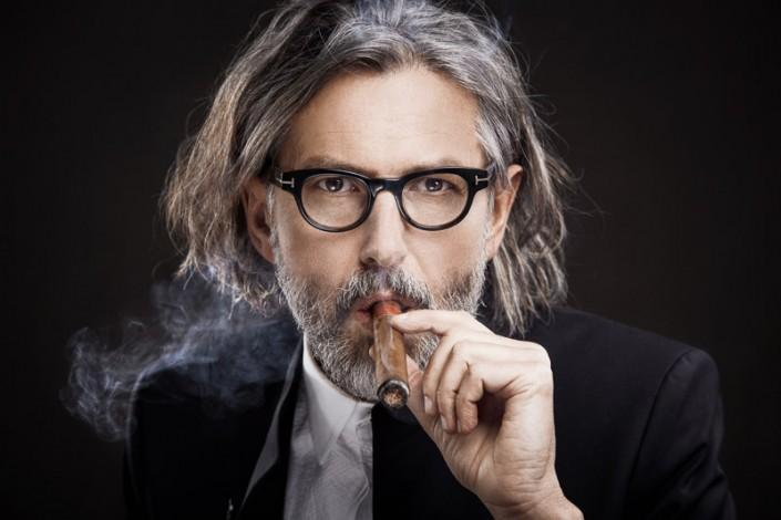Robert Berger - Portrait mit Zigarre