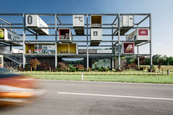 Architekturfotografie für Baumeister Partl - Genussregal