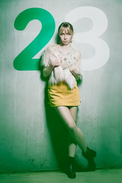 Anna mit der Nummer 23
