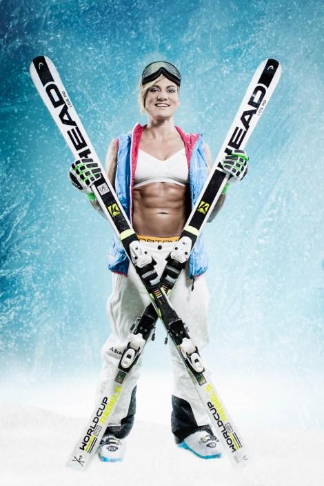 Herta liebt Skifahren