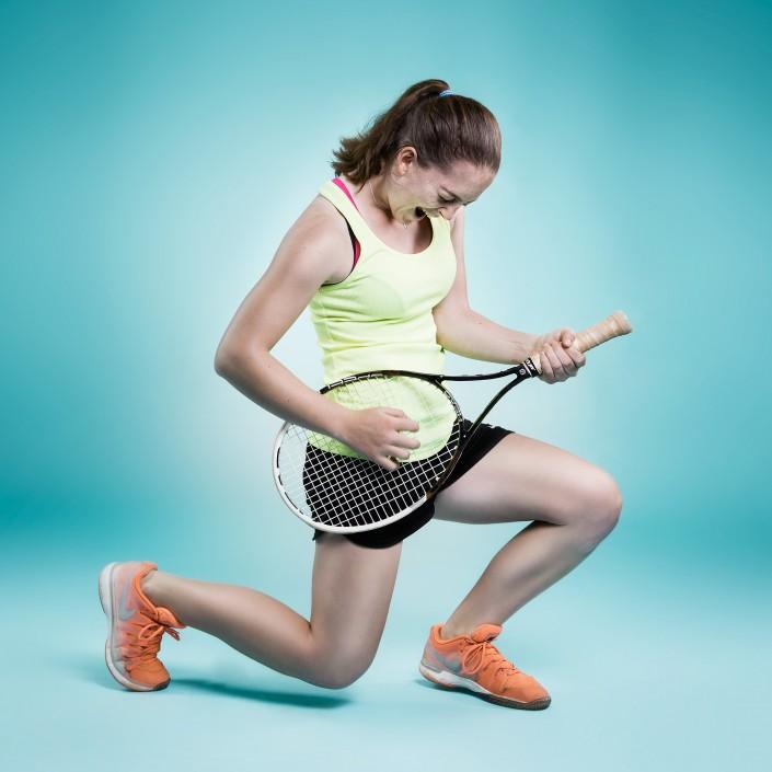 Sarah Primik rockt Tennis
