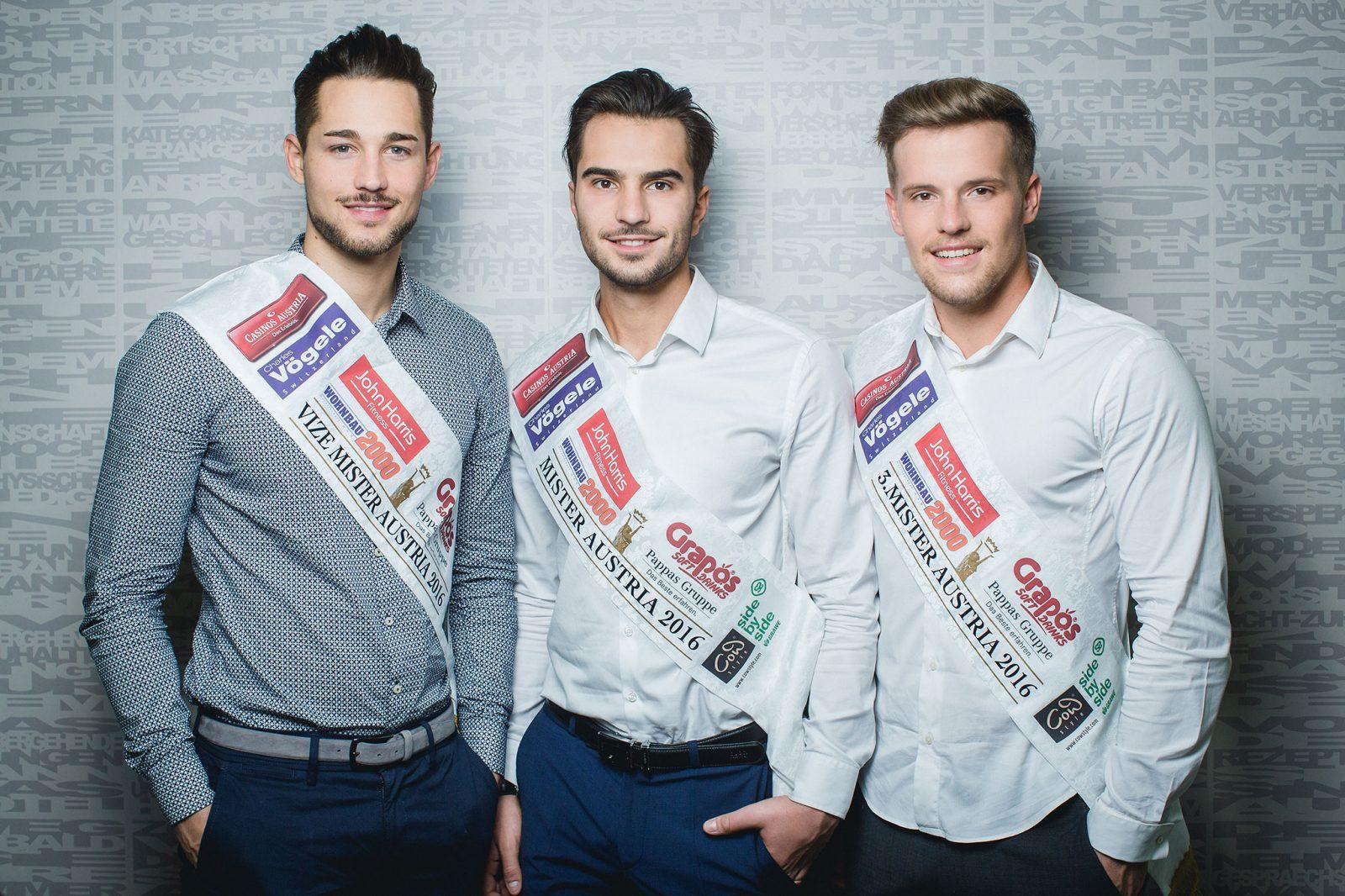 Mister Austria 2016 Gewinner (c) Miriam Primik