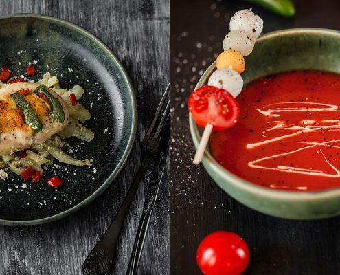 """Artikel über die Essensfotografie für das Kochbuch """"Eine Portion Liebe"""" von Jasmin Parapatits"""