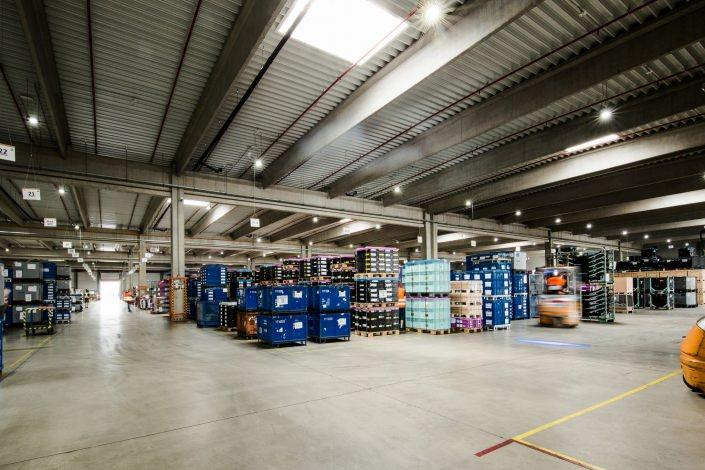 Lagerhalle Logistik Duvenbeck